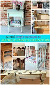 Diy tutorial antiquing wood Barn Wood Howtoantiquefurnitureantiquingoragingfurniture Petticoat Junktion How To Antique Furniture And Antique Painted Furniture Tutorial