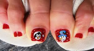 nail designs 2014 for toes. christmas toes nail art gallery designs 2014 for