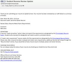 how to upload a resume and complete resume check spider career blog meets rubric requirements email