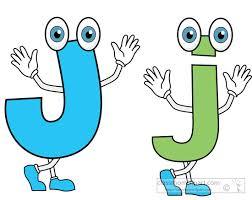 Image result for clip art letter j
