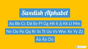 Although some similarities are present there are also many differences between these two phonetic alphabets. Swedish Alphabet How To Pronounce Each Letter Correctly Hej Sweden