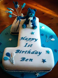 Baby Boy 1st Birthday Cake Pictures One Year Topper By Ideas Periskop
