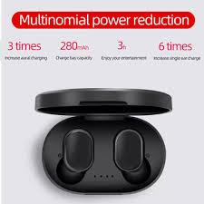 Tai nghe không dây bluetooth 5.0 true wireless A6 - Tai nghe True Wireless  Thương hiệu OEM