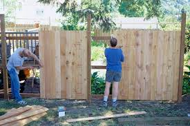 aside from the practical barriers they provide to dogs deer and other unwanted critters fences can help set the character of a garden or yard
