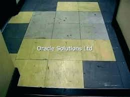 how to cover asbestos floor tiles painting removing tile vinyl resin plastic covering basement ho