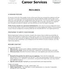 Examples Of Resumes For College College Graduate Resume Examples