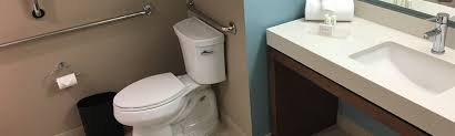 Handicap Accessible Bathroom Magnificent The Good Bad Of ADA Accessible Hotel Bathrooms WheelchairTravelorg