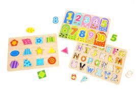 HKD Cát Tường: Đồ Chơi Xếp Hình Bằng Gỗ Cho Bé 3 Tuổi - Wooden Puzzles for 3  Year Old