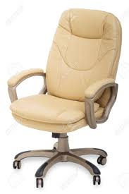 chair on wheels. new leather office chair on wheels stock photo - 11839349 w