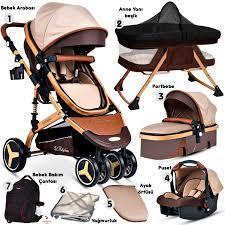 Baby Home 945 Paris Travel Sistem Bebek Arabası Anne Yanı Sepet Beşik 7'in  1 Full Takım Fiyatı ve Özellikleri - GittiGidiyor