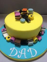 Liquorice Allsorts Cake Designs Liquorice Allsorts Birthday Cake 70th Birthday Cake