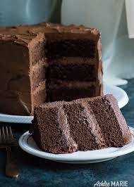 Perfect Chocolate Cake Recipe with Ganche buttercream rich dense