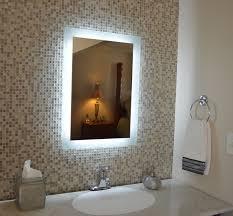 lighted bathroom mirrors home bathroom contemporary bathroom. Lighted Bathroom Mirrors Home Contemporary T
