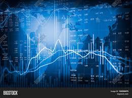 Financial Stock Market Image Photo Free Trial Bigstock