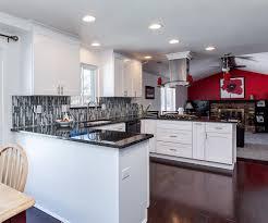White Kitchen Remodeling Black And White Kitchen Remodel In Denver