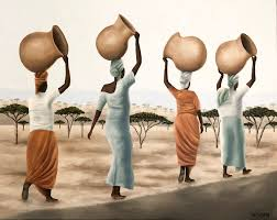 "Women of the Savanna"" by artist Ashley Bunting. in 2020 | Kunst, Ideen"