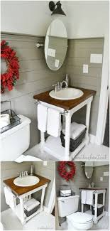 40 Upcycled And One Of A Kind Bathroom Vanities DIY With Regard To Inspiration Bathroom Cabinet Design Plans