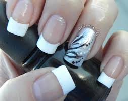 Solid Color Acrylic Nail Designs Good Idea For French Tip Nails With A Solid Color Nails