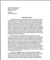 exploratory topic essay exploratory topic