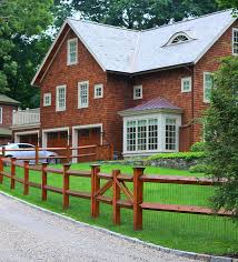 Split rail fencing is some of the most iconic fencing you can find in front of houses. Split Rail Fence Houzz