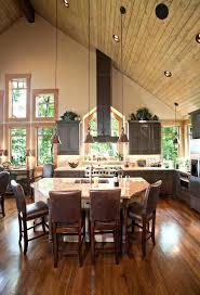 vaulted ceiling lighting. Vaulted Ceiling Lighting Cheap Kitchen Traditional With Poplar Bark Tug