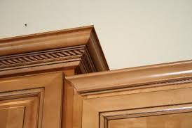 Crown Moulding Cabinets Kitchen Cabinet Makeover Install Crown Molding Helloi Live Here