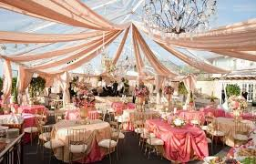party tent semi outdoor decorating ideas