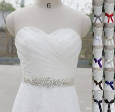 Wholesale Wedding Sashes At 16 65 Get Best Selling Shiny Crystal