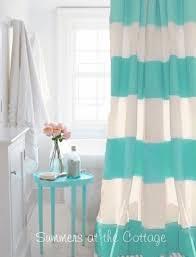 teal striped shower curtain. coastal living beach house aqua turquoise teal cabana stripe shower curtain. view images teal striped shower curtain t