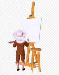easel drawing painting painter art