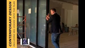 what it takes to include a big door in your home build andersen multiglide door