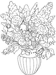 Coloring Pages Floral Coloring Pages For Spring Flowers Kids