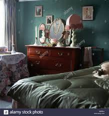 Pale Green Bedroom Pale Green Satin Eiderdown On Bed In Green Cottage Bedroom With