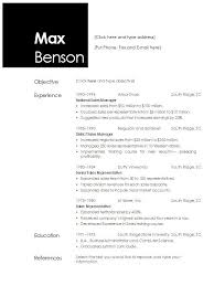 Resume Templates For Openoffice 20 Open Office Template Resumes ...