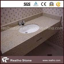 prefab granite marble quartz travertine terrazzo limestone vanity tops for bathroom