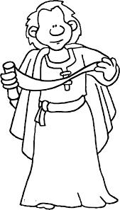 Apostle Paul Read Coloring Page Wecoloringpagecom