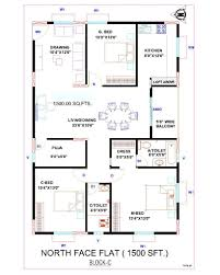 0 Beautiful House Plan 30 X 45 And Floor Plans North Facing Map Plans North Facing House Plans With Elevation L