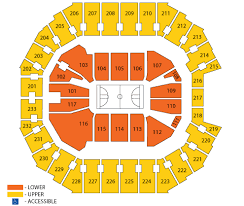the spectrum center seating chart