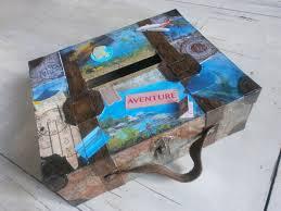 Valise Urne De Mariage Vintage Th Me Voyages Vendue Urne Mariage Sur Le Theme Du Voyage De Noce
