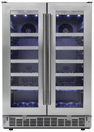 danby silhouette wine cooler. Beautiful Silhouette Danby SILHOUETTE PROFESSIONAL42 Bottle Dual Zone Wine Cooler Intended Silhouette