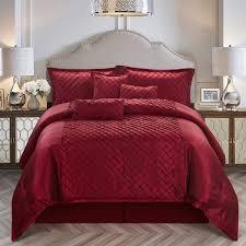 wayfair bedroom red comforter sets bed