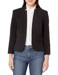 Nine West Plus Size Chart Nine West Womens Plus Size Kiss Front Jacket