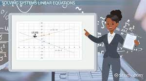 how to solve systems of linear