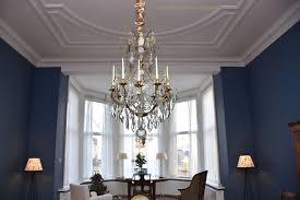 18 Jahrhundert Französischer Kronleuchter Im Wohnzimmer