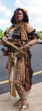 black amazon warrior. Interesting Warrior Steampunk Dahomey Amazon Warrior On Black A