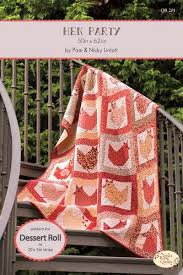73 best Quilting-Pam and Nicky Lintott images on Pinterest | Book ... & Hen Party - Dessert Roll Quilt Pattern - The Quilt Room - Patchwork &  Quilting Specialists, Surrey Adamdwight.com