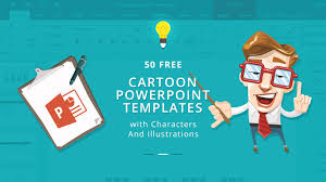 Powerpoint Backgrounds Free 50 Free Cartoon Powerpoint Templates With Characters Illustrations