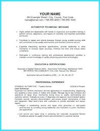 Aviation Mechanic Resume Examples Convincing Design And Layout For