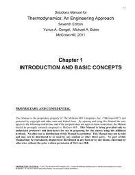 Cengel Y.A., Boles M.A. Solutions Manual for Thermodynamics: An ...