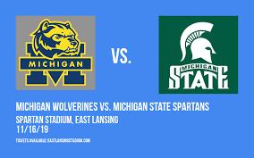 Michigan State Basketball Arena Seating Chart Michigan Wolverines Vs Michigan State Spartans Tickets